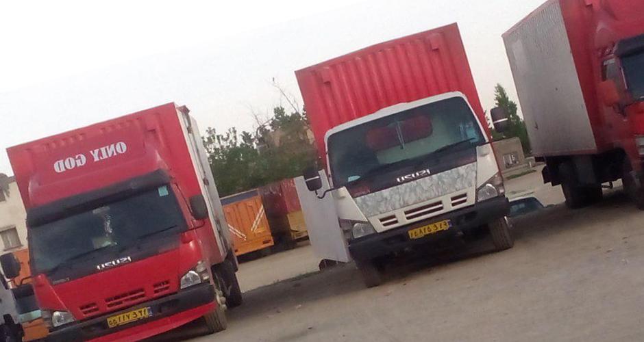 حمل اثاثیه منزل در اصفهان نطم بار